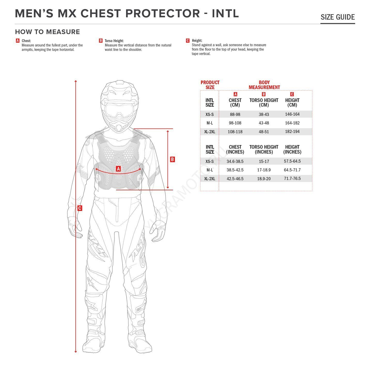 size-intl_mens-motocross-chest-protector