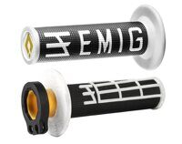 Ручки руля ODI GRIPS EMIG RACING V2 BLACK/WHITE