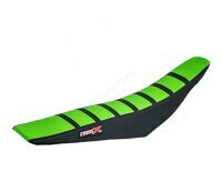 Покрытие сиденья Crossxracing KAWASAKI KXF 250 13-16/KXF 450 12-15 GREEN-BLACK-BLACK