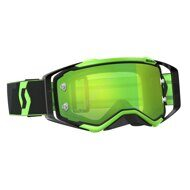 Очки кроссовые Scott Prospect black/fluo green chrome works