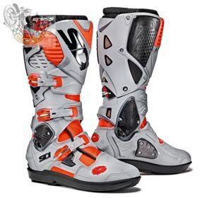 Мотоботы SIDI CROSSFIRE 3 SRS RED FLUO ASH