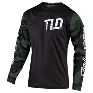 Джерси Troy Lee Design GP JERSEY; CAMO GREEN / BLACK MD