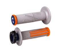 Ручки руля ODI EMIG PRO V2 LOCK-ON GRIPS GRAY / Orange