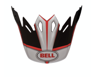 Козырек шлема Bell Moto 9 Peak (Spark/Red Black)