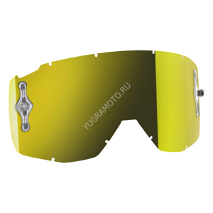 Линза Scott Yellow Chrome