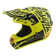 Мотошлем Troy Lee Designs SE4 POLYACRYLITE W/MIPS FACTORY YELLOW