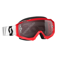 Очки кроссовые Scott Hustle MX Red Black - Silver Chrome Works(Копия)